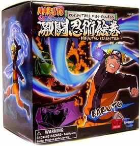 Toynami Naruto Shippuden Ninjutsu Collection 4 Inch Series 1 Figure Naruto