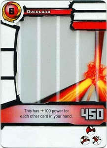 Redakai Gold Pack Single Card Rare #3159 Overload BLOWOUT SALE!