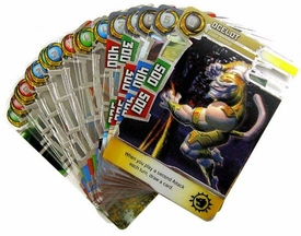 Redakai Gold Pack Complete Set of all 20 Single Cards