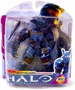 Halo 3 McFarlane Toys Series 6 [MEDAL EDITION] Action Figure Brute Bodyguard