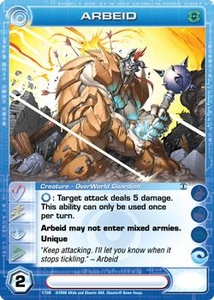 Chaotic Trading Card Game Silent Sands Creature Single Card Uncommon #1 Arbeid