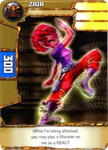 Redakai Power Pack Single Card Common #1004 Zair [Radikor] BLOWOUT SALE!