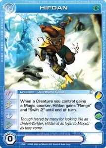 Chaotic Trading Card Game Silent Sands Creature Single Card Uncommon #3 Hifdan