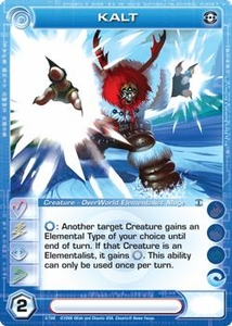 Chaotic Trading Card Game Silent Sands Creature Single Card Common #5 Kalt