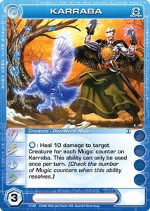 Chaotic Trading Card Game Silent Sands Creature Single Card Super Rare #6 Karraba BLOWOUT SALE!