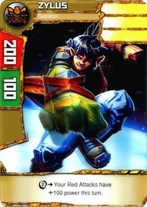 Redakai Power Pack Single Card Common #1009 Zylus [Battacor]