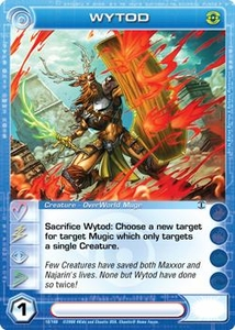 Chaotic Trading Card Game Silent Sands Creature Single Card Rare #10 Wytod
