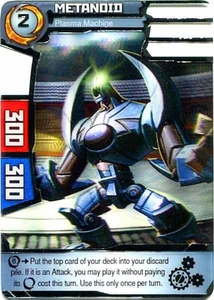Redakai Power Pack Single Card Rare #2000 Metanoid [Plasma Machine]