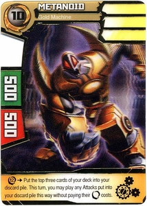Redakai Power Pack Single Card Super Rare #2004 Metanoid [Gold Machine]