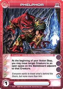 Chaotic Trading Card Game Silent Sands Creature Single Card Super Rare #13 Phelphor