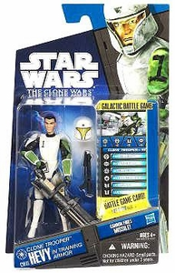 Star Wars 2011 Clone Wars Action Figure CW No. 41 Clone Trooper Hevy [Training Armor]