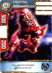 Redakai Power Pack Single Card Common #2021 Froztok [Red Elemental]