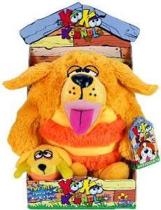 KooKoo Kennel 6 Inch Plush Good-Natured, Loyal, Golden Fetcher [Includes Mini Puppy]