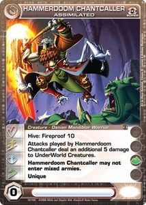 Chaotic Trading Card Game Silent Sands Creature Single Card Super Rare #16 Hammerdoom Chantcaller Assimilated