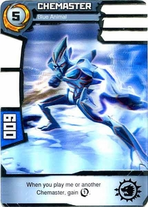 Redakai Power Pack Single Card Rare #2033 Chemaster [Blue Animal]