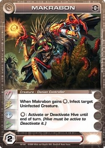 Chaotic Trading Card Game Silent Sands Creature Single Card Common #19 Makrabon