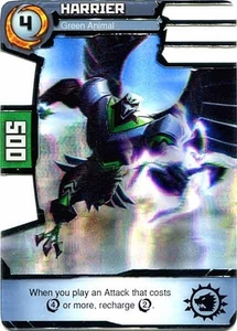 Redakai Power Pack Single Card Rare #2044 Harrier [Green Animal] BLOWOUT SALE!