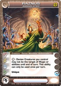 Chaotic Trading Card Game Silent Sands Creature Single Card Rare #20 Raznus Assimilated BLOWOUT SALE!