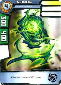 Redakai Power Pack Single Card Rare #2053 Infinita [Green Elemental]
