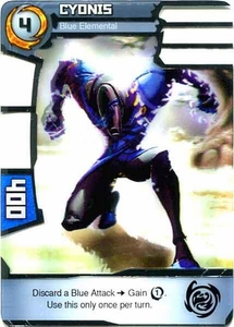 Redakai Power Pack Single Card Rare #2073 Cyonis [Blue Elemental]