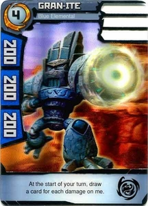 Redakai Power Pack Single Card Rare #2094 Gran-ite [Blue Elemental]