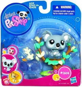 Littlest Pet Shop 2010 Assortment 'A' Series 5 Collectible Figure Koala Bear