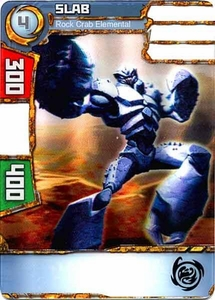 Redakai Power Pack Single Card Common #2120 Slab [Rock Crab Elemental] BLOWOUT SALE!