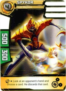 Redakai Power Pack Single Card Super Rare #2145 Spykor [Gold Machine]