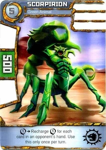 Redakai Power Pack Single Card Common #2152 Scorpirion [Green Animal]