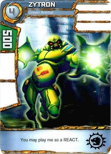 Redakai Power Pack Single Card Common #2194 Zytron [Green Animal]