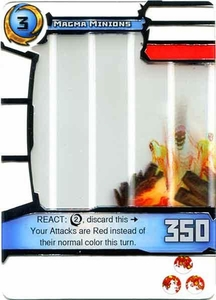 Redakai Power Pack Single Card Rare #3008 Magma Minions BLOWOUT SALE!