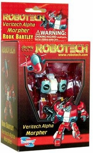 Robotech Veritech Alpha Morpher Rook Bartley (Red)