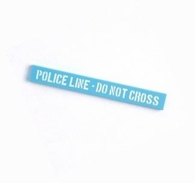 Citizen Brick Custom Printed LOOSE 8x1 Tile Police Line [Do Not Cross]