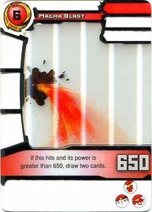Redakai Power Pack Single Card Rare #3009 Magma Blast