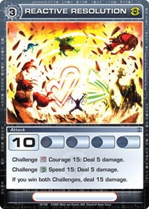 Chaotic Trading Card Game Silent Sands Attack Single Card Rare #56 Reactive Resolution