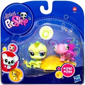 Littlest Pet Shop 2010 Assortment 'B' Series 1 Collectible Figure Inchworm & Butterfly