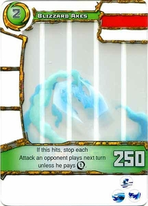 Redakai Power Pack Single Card Common #3016 Blizzard Axes
