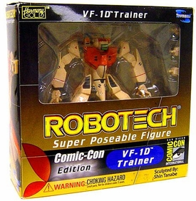 Robotech Super Poseable Action Figure VF-1D Trainer [San Diego Comic-Con International Edition]