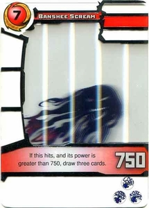 Redakai Power Pack Single Card Rare #3029 Banshee Scream BLOWOUT SALE!