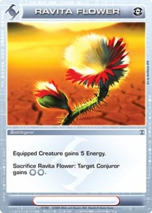 Chaotic Trading Card Game Silent Sands Battlegear Single Card Common #72 Ravita Flower