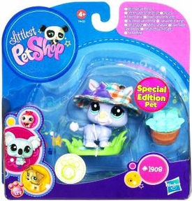 Littlest Pet Shop 2010 Assortment 'B' Series 5 Collectible Figure Rhino [Special Edition Pet!]