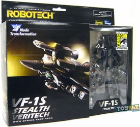 Toynami 2009 SDCC San Diego Comic-Con Exclusive Robotech Figure VF-1S Stealth Veritech