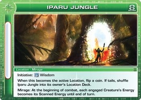 Chaotic Trading Card Game Silent Sands Location Single Card Ultra Rare #95 Iparu Jungle