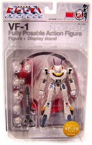 Robotech Macross Fully Poseable Action Figure No. 020 Valkyrie VF-1S