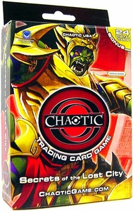 Chaotic Card Game Secrets of the Lost City Starter Deck