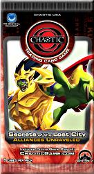 Chaotic Card Game Series 8 Secrets of the Lost City: Alliances Unraveled Booster Pack