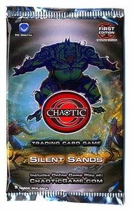 Chaotic Card Game Series 3 Silent Sands Booster Pack