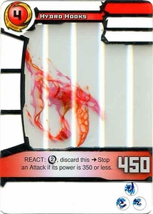 Redakai Power Pack Single Card Rare #3096 Hydro Hooks