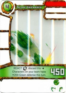 Redakai Power Pack Single Card Common #3102 Slime Grenades BLOWOUT SALE!