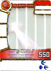 Redakai Power Pack Single Card Common #3104 Cold Beam Attack